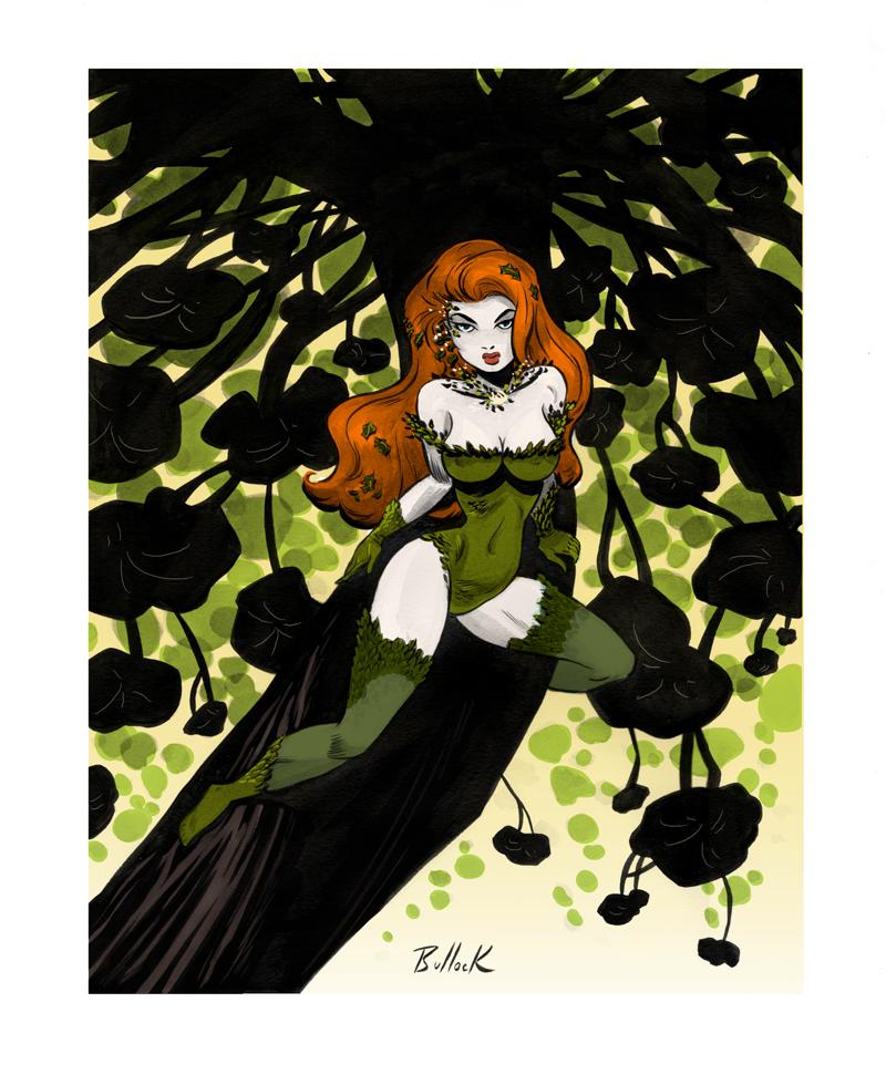 Poison Ivy 1 by DaveBullock