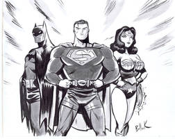 DC's BIG THREE for CHARITY!