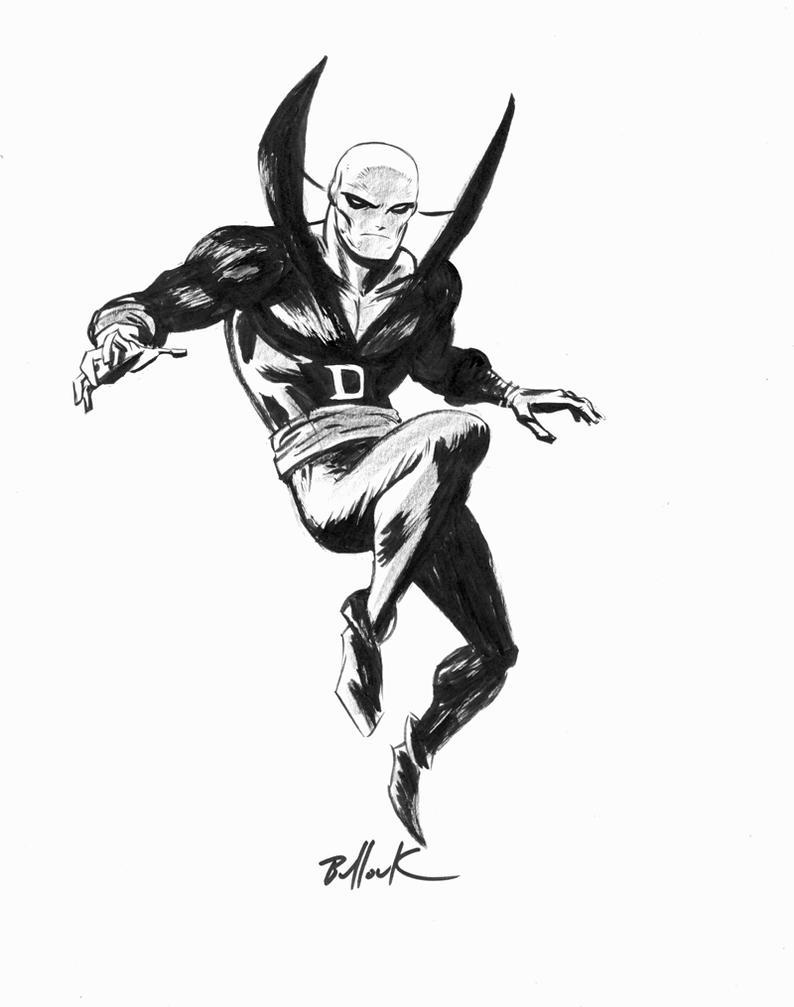 Deadman ink sketch by DaveBullock