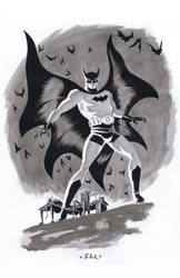 BatManBatCave by DaveBullock