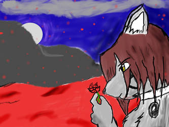 Red Snow by foxfang16