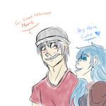 Teen Edd and Marie