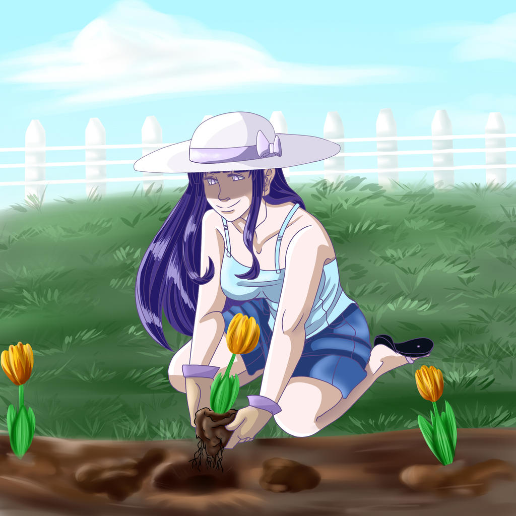Tending To The Garden By Freyamustdie On Deviantart