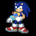 SA1 Sonic by KaosMass95