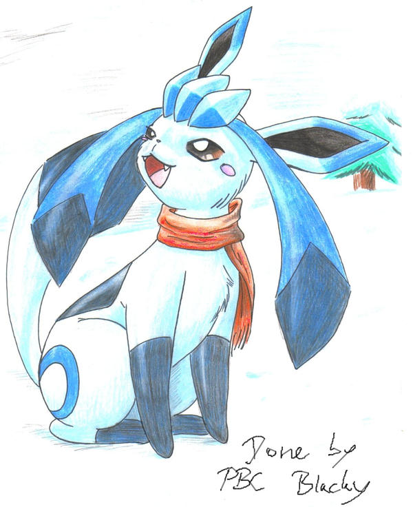Froza The Glaceon By Pitch-black-crow On DeviantArt