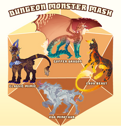 Kebanzu Auction - Dungeon Monster Mash! (CLOSED)