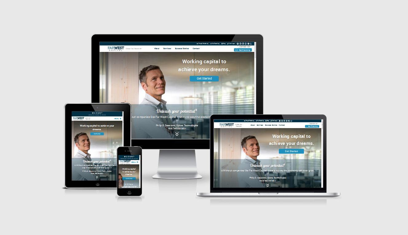 Far West Capital Website by shapemetal