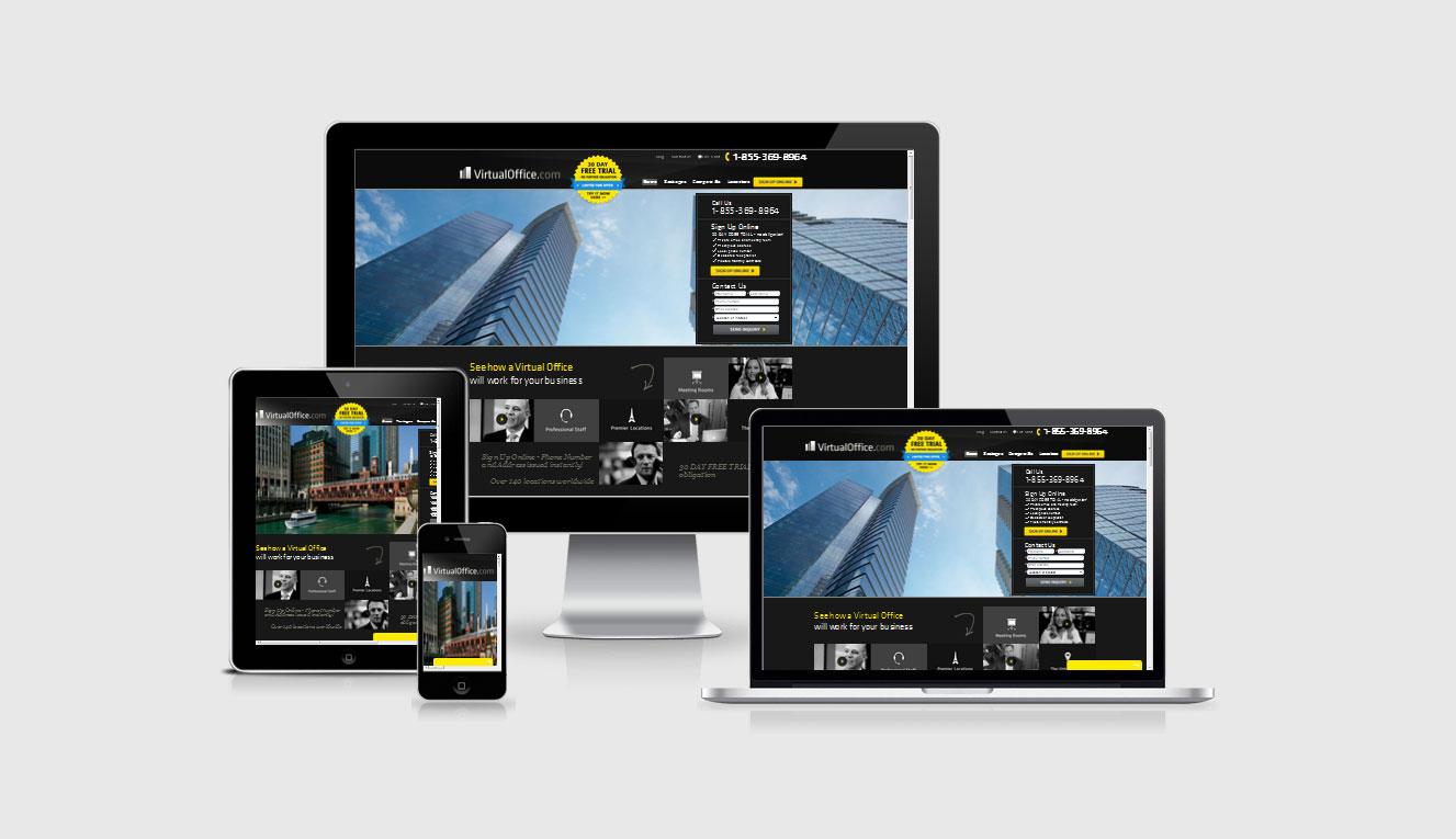 Virtual Office Website by shapemetal