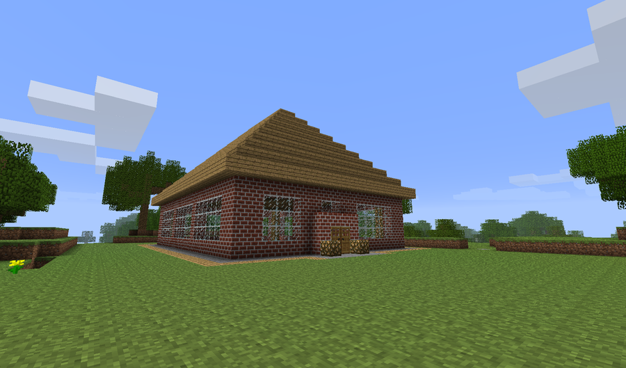 how to build a roof in minecraft xbox 360