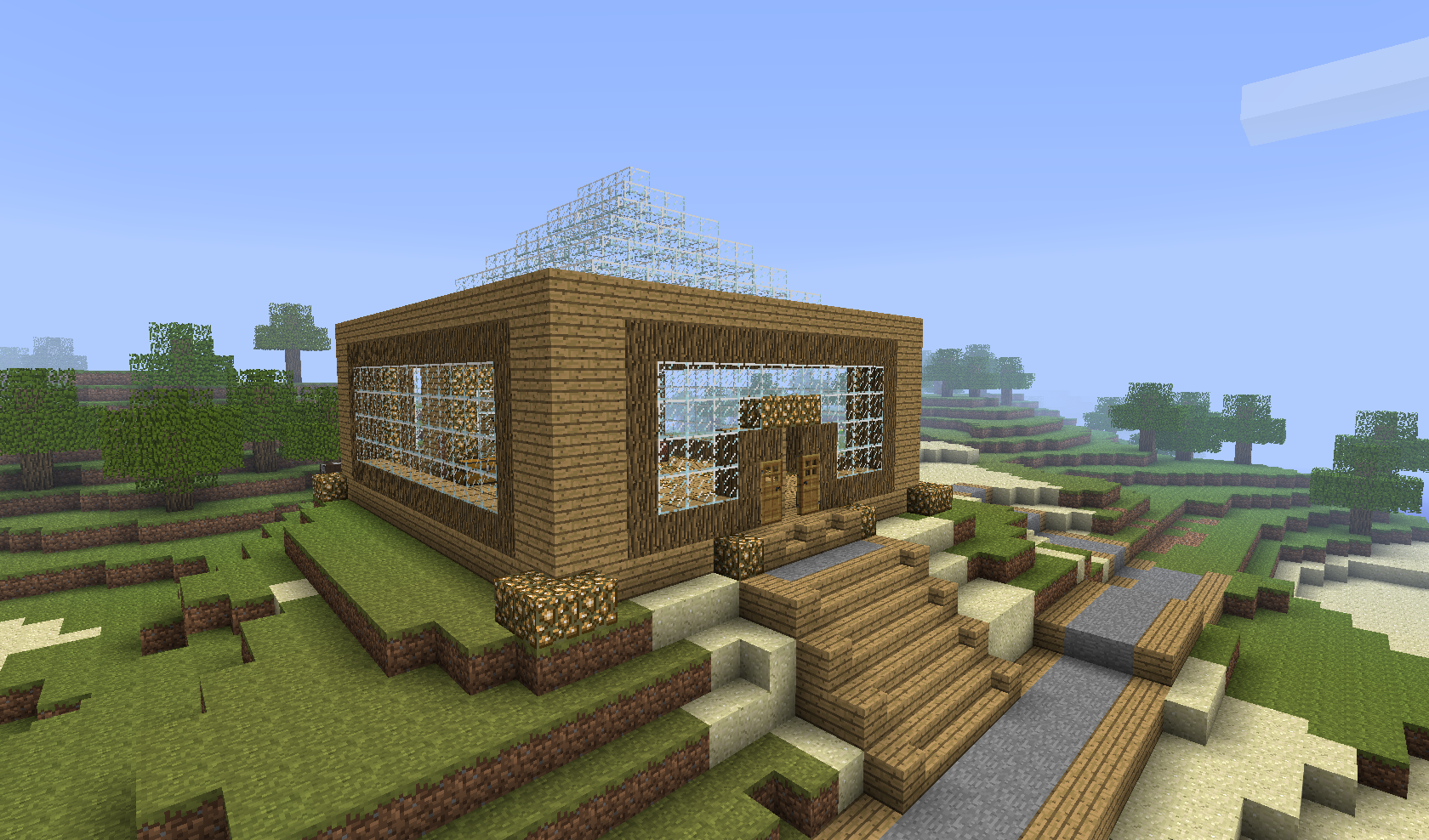 Spawn Building-MineCraft by EpicDavi
