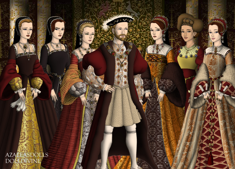King Henry VIII of England and his Bitches by MoonMaiden37 ...