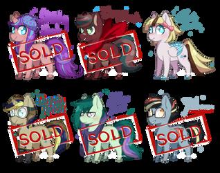 Pony Adopts OPEN [1/6] Batch 1 by FlashOfAurora