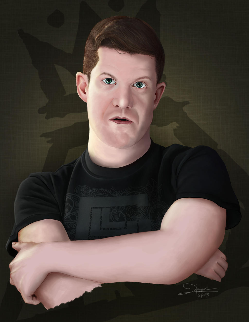 Andy Hurley Without Beard And Tattoos By Gylele On Deviantart