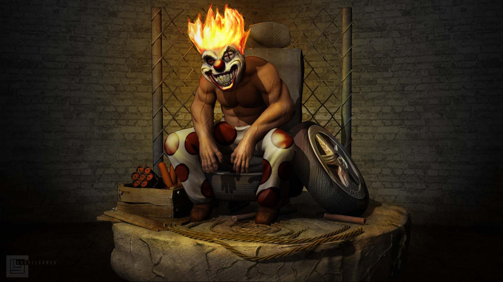 Sweet tooth by gylele on deviantart - Sweet tooth wallpaper twisted metal ...