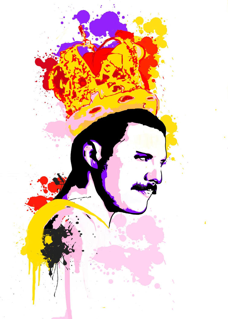 freddie mercury digital by anncuervo