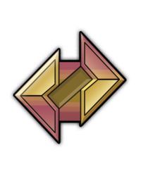Stone badge by MegaScarletsteam