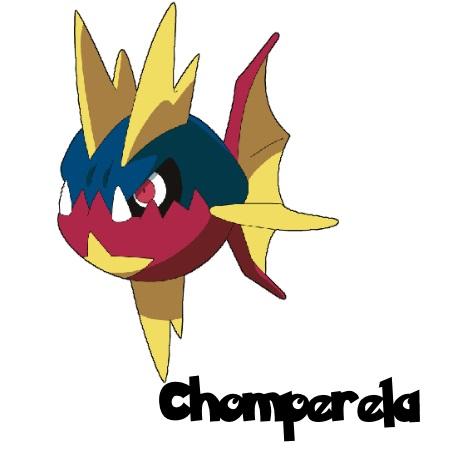 Nuzlock Chomperela by MegaScarletsteam