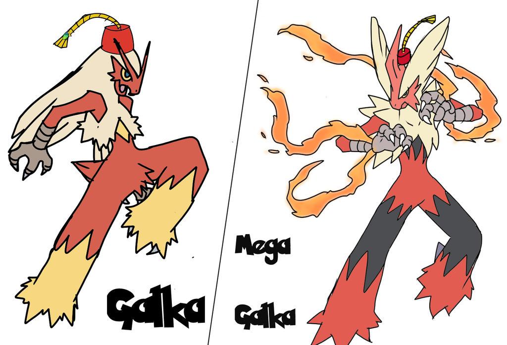Nuzlock galka final by MegaScarletsteam