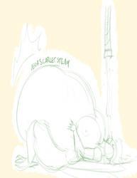 Tricia sketch by tlink by MegaScarletsteam