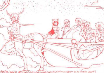 Hynda And Mab Claws Save XXX-mas by MegaScarletsteam