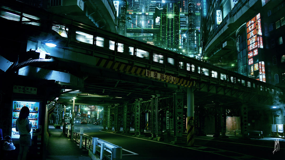 Zaibatsu. Tokyo by AkimovMikhail