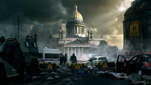 Saint Isaac's Square by AkimovMikhail