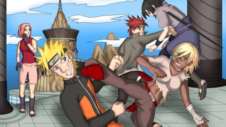 Naruto To Boruto Fan Art 01