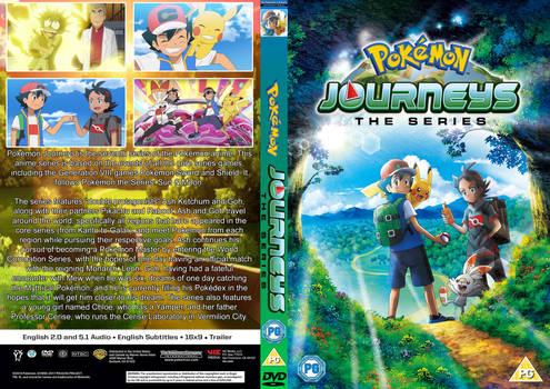 'Pokemon Journeys' custom box art