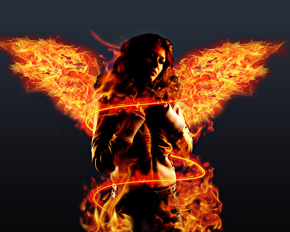 Fire Angel by struka