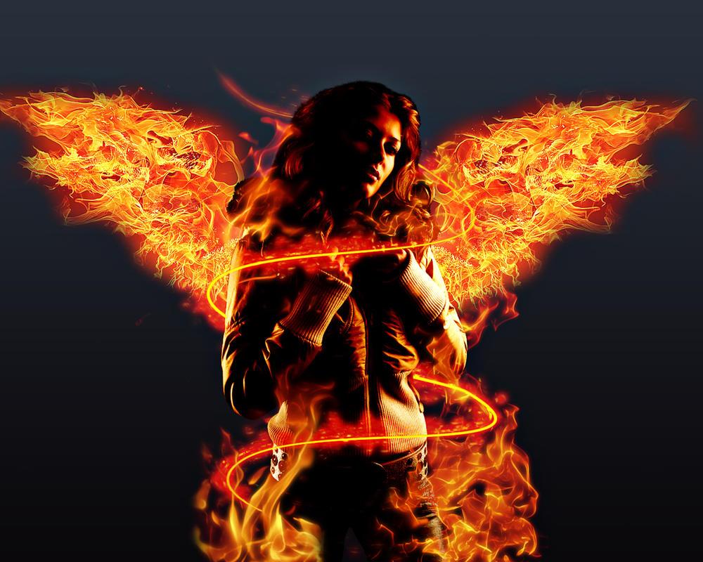 Fire Angel by struka
