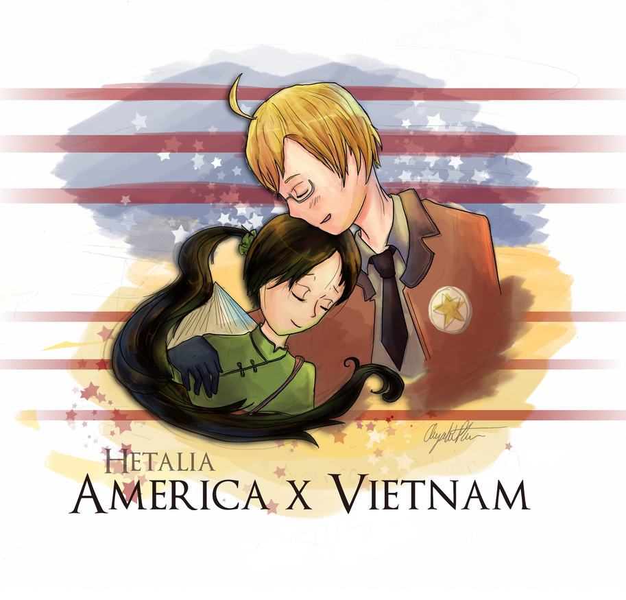 hetalia america and vietnam relationship