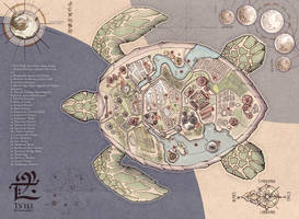 Map of Tsili - Flying Turtle of Aia