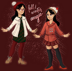 my Fall/Winter outfits by AngieMyst