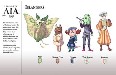 Islanders - LoA