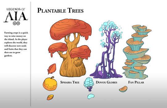 Plantable Trees - LoA