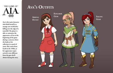Ava's Outfits by AngieMyst