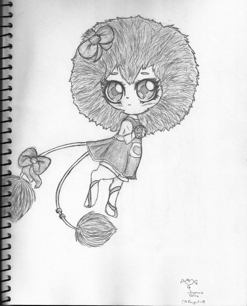 Super sweet Dandy Lion by Echo-Neko8