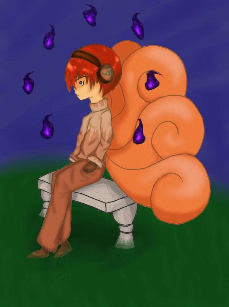 Vulpix boy collab by SweetCatMint