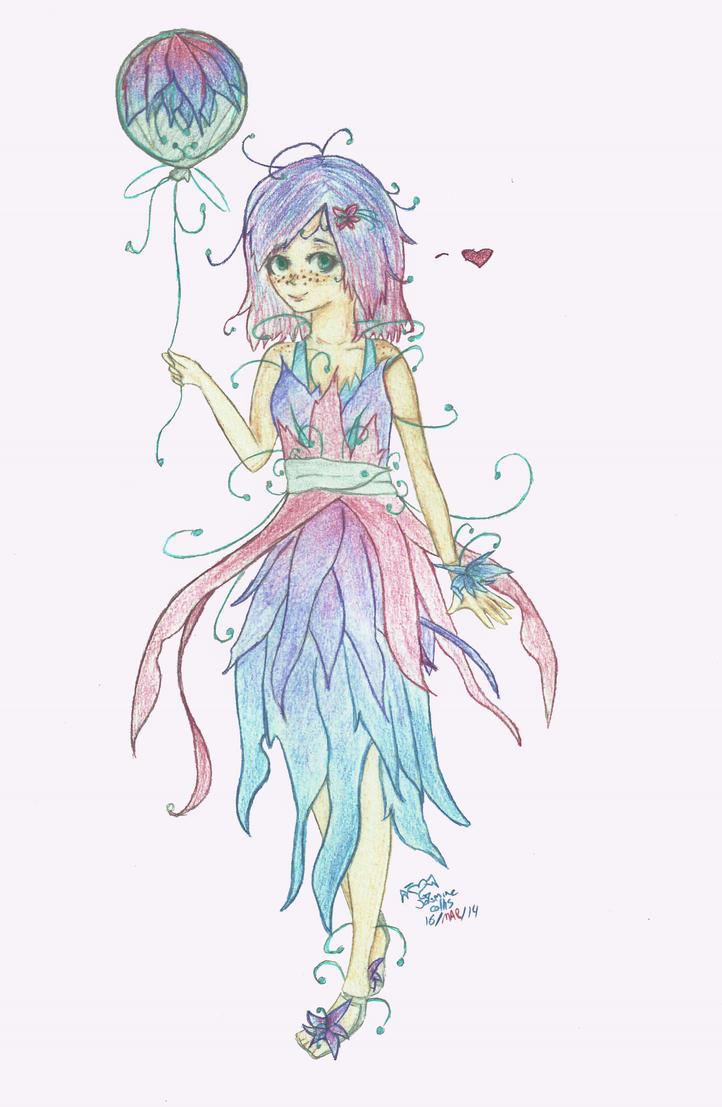 Hannah Art Trade - Coloured by Echo-Neko8