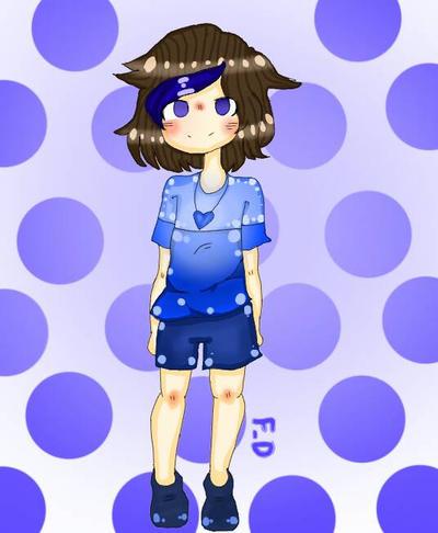 Blue soul by Dayalonsi348