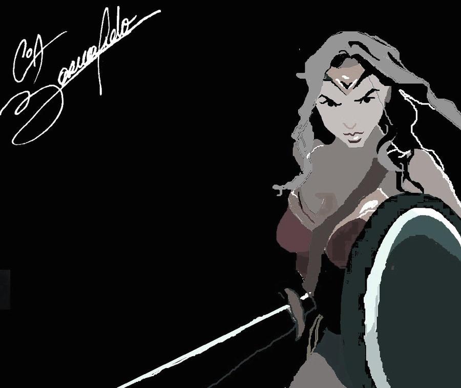 WonderGal -Sketch- by guadania