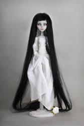 Sophie - OOAK Doll Monster High Ghoulia II by Szklanooka