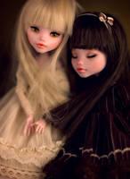 Chocolate sisters by Szklanooka