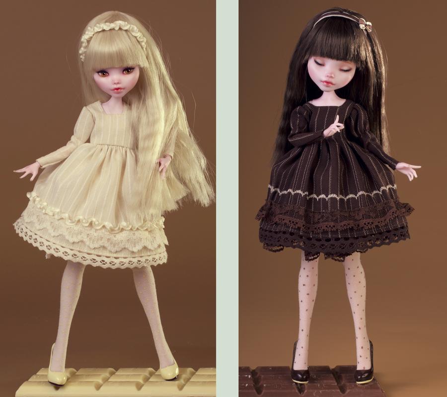 White Chocolate VS Dark Chocolate ? by Szklanooka