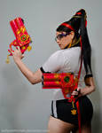 Bayonetta P.E. Uniform - What are you looking at?