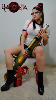 Bayonetta P.E. Uniform - Meet my friend Kilgore