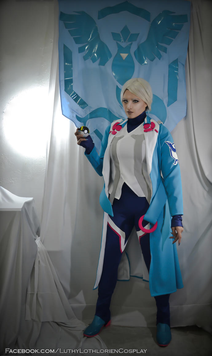 Blanche - The Mystic Team Leader by Luthy-Lothlorien