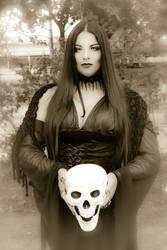 Happy Halloween 2017 - Morticia I (Sepia)