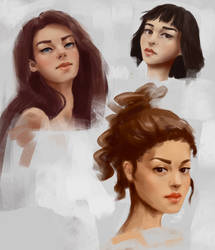 Doodling Portraits