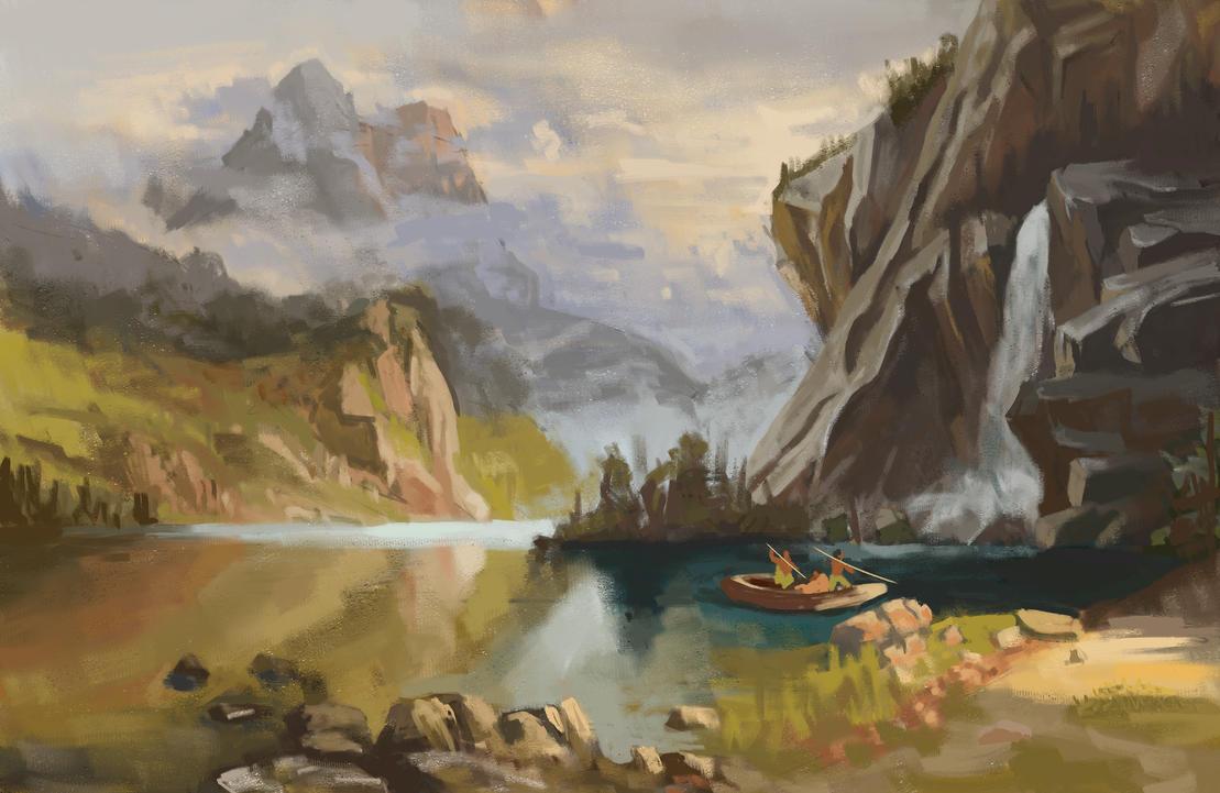 Bierstadt Study by globulr